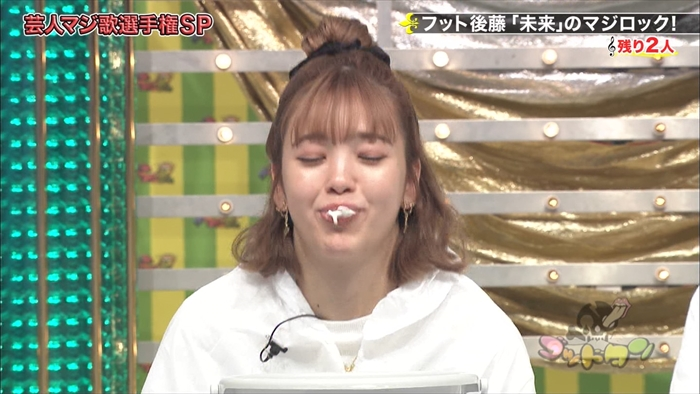 藤田ニコルのフェラ顔エロ画像