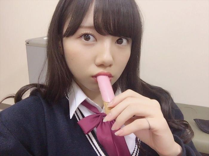 齊藤京子のフェラ顔エロ画像