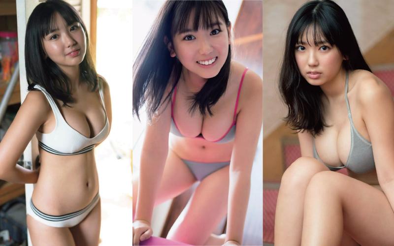 沢口愛華の写真集中身エロ画像
