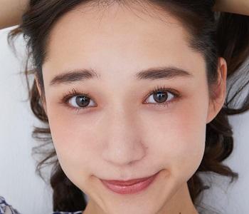 白本彩奈の可愛い顔アップ画像